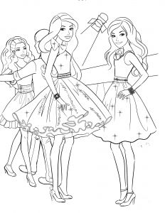 Coloring Pages Of Barbie - 85 Barbie Coloring Pages for Girls Barbie Princess Friends andfantasy Print Color Craft 7t