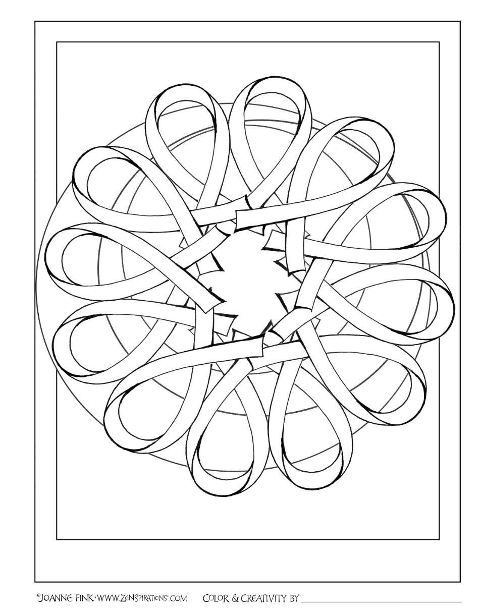 coloring pages of cancer ribbons Download-In honor of Breast Cancer Awareness month Joanne Fink created FREE Zenspirations PINK RIBBON designs 13-o