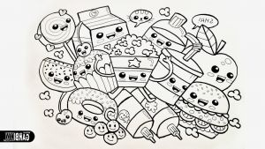 Coloring Pages Of Food - Olchis Ausmalbilder Bilder Zum Ausmalen Bekommen Kawaii Food Coloring Pages Awesome Kawaii Coloring Pages Od Fruits 9n