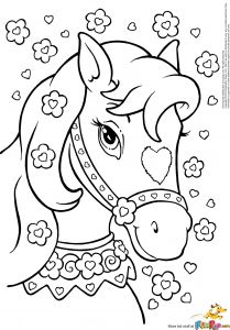 Coloring Pages Of Horses - Horse Coloring Page Coloring Pages Horses Heathermarxgallery 15l