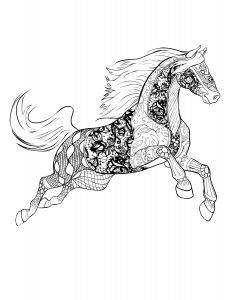 Coloring Pages Of Horses - Christmas Coloring Pages Horse Christmas Coloring Pages No Download 18p