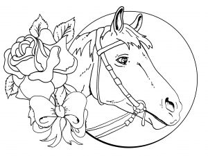 Coloring Pages Of Horses - Coloring Horse Coloring Pages for Girls and Free Printable Horse Coloring Pages for Kids Best to 13a