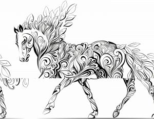 Coloring Pages Of Horses - Horse Coloring Sheet Adult Horse Coloring Pages Children A to Color Wallpapers Images Desktop Background On Other Category Similar with 4h