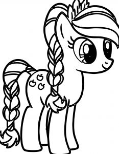 Coloring Pages Of My Little Pony Friendship is Magic - Little Pony 10j