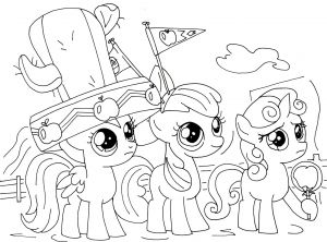 Coloring Pages Of My Little Pony Friendship is Magic - My Little Pony Characters Coloring Pages 20s