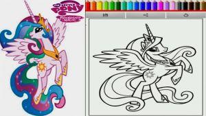 Coloring Pages Of My Little Pony Friendship is Magic - My Little Pony Coloring Pages Games My Little Pony Vitlt 18g