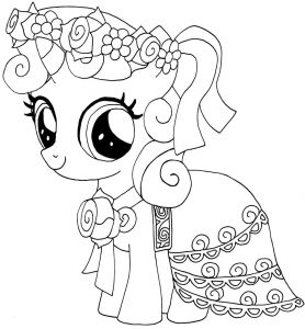 Coloring Pages Of My Little Pony Friendship is Magic - Best Little Pony Coloring Pages Coloring Pages Schön My Little Pony Friendship is Magic Ausmalbilder 2a
