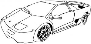 Coloring Pages Of Sports Cars - Coloring Pages Sports Cars top Cars Coloring Page 48 10o