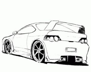 Coloring Pages Of Sports Cars - Hot Rod Coloring Pages to Print Printable 17a