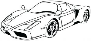 Coloring Pages Of Sports Cars - Car Coloring Pages Printable Cars Muscle for Kids Sports Pdf 7 14r
