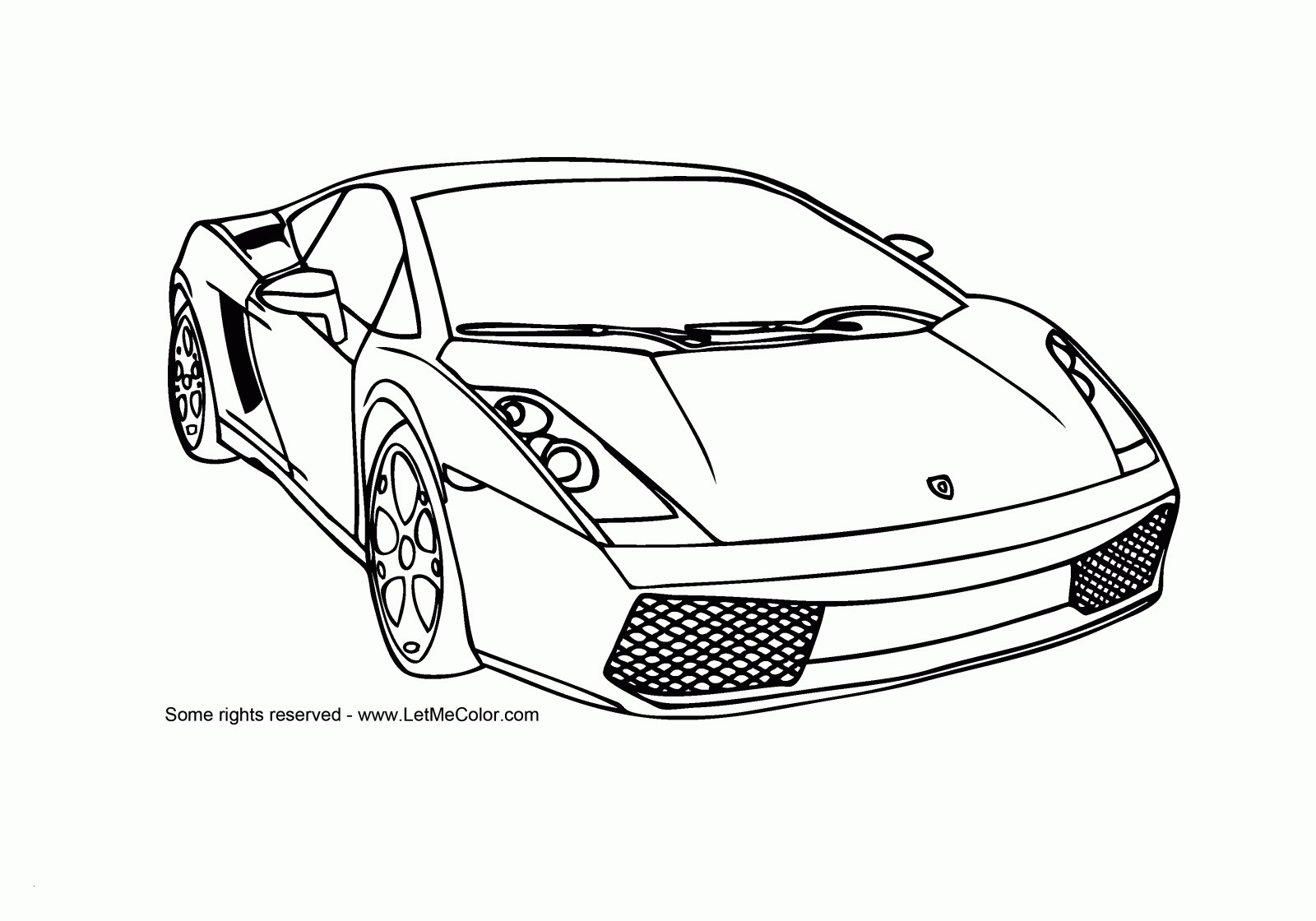 coloring pages of sports cars Collection-Sports Cars Coloring Pages Free Frisch Ausmalbilder Autos Ferrari 6-n