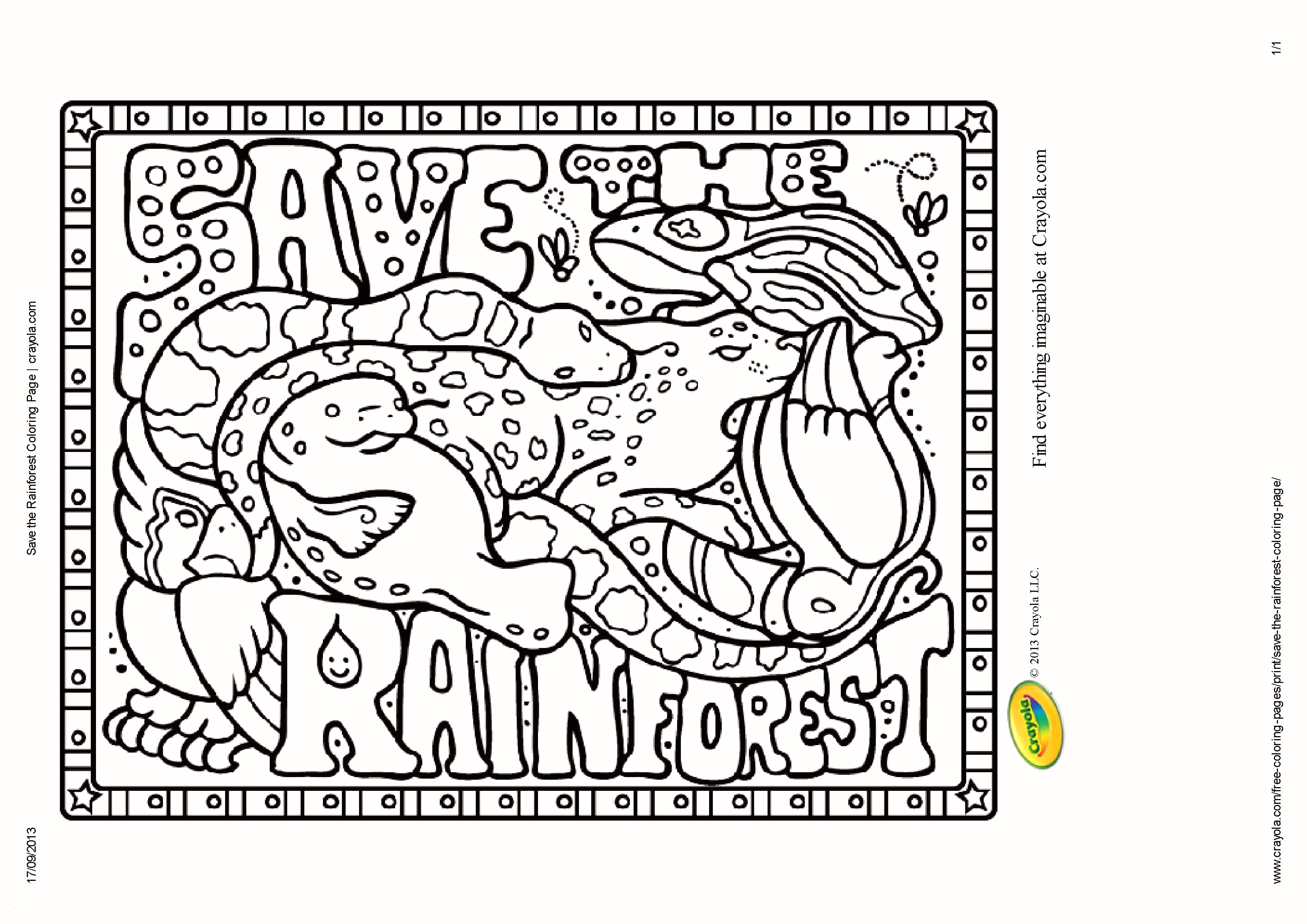 coloring pages rain forest Collection-Rainforest Scene Coloring Pages Rainforest Animal Coloring Page Best 30 Beautiful Rainforest 10-p