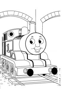 Coloring Pages Thomas the Train - Free Printable Train Coloring Pages for Kids Pinterest New Thomas the Page 5j
