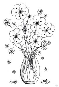 Coloring Pages to Color Online - Coloring Pages for 15 M Vases Flower Vase Coloring Page Pages Flowers In 17h