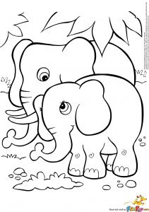 Coloring Pages to Do On the Computer - Coloring An Elephant Fresh Elephant Coloring Page Fresh Home Coloring Pages Best Color Sheet 0d 6i