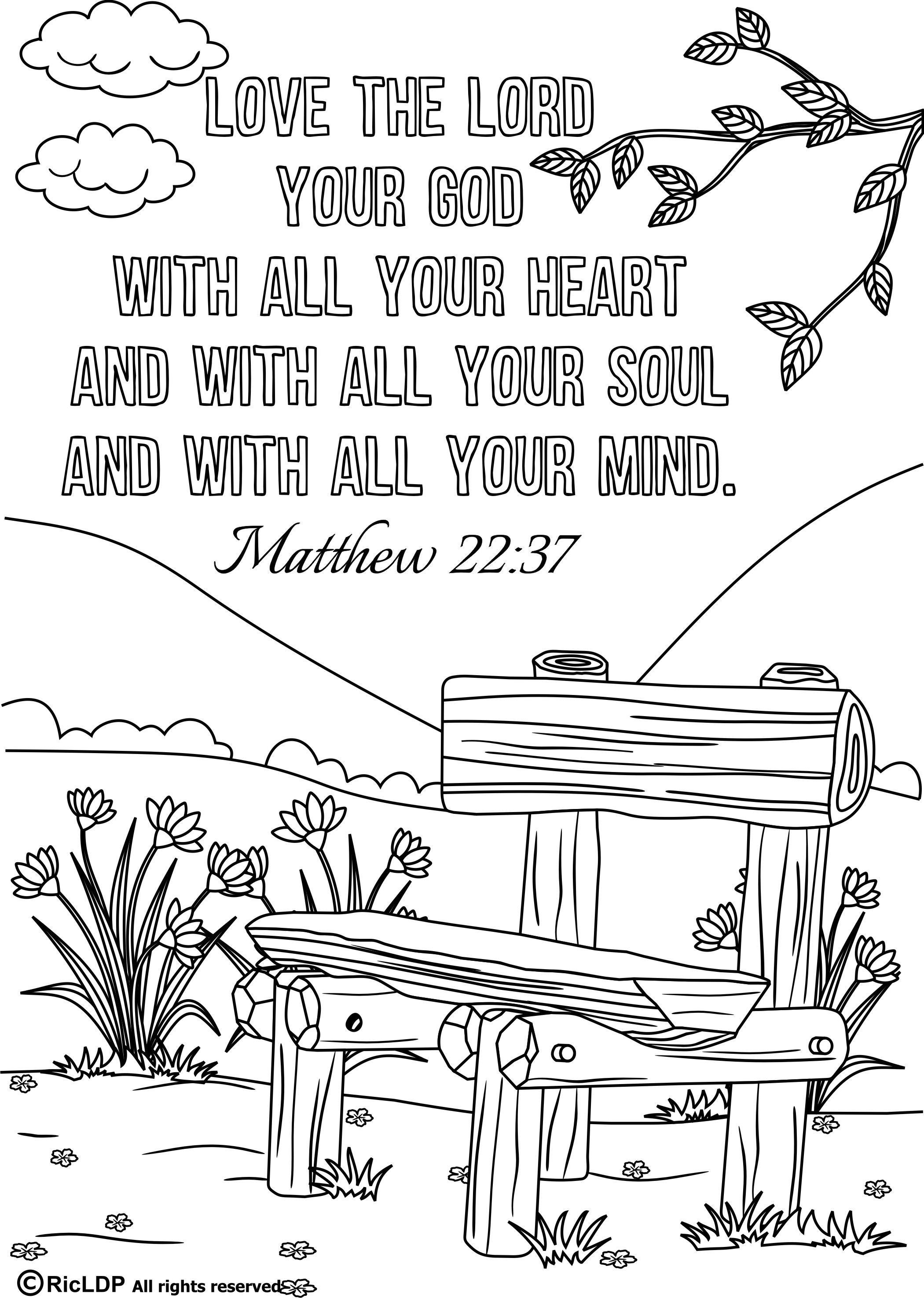 coloring pages with bible verses Download-free coloring pages 15 Printable Bible Verse Coloring Pages Verses Bible And Pdf of 9-d