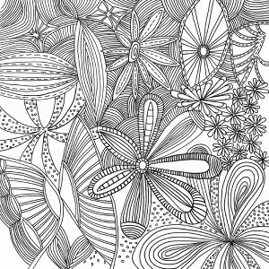 Complicated Animal Coloring Pages - Coloring Detail 10p