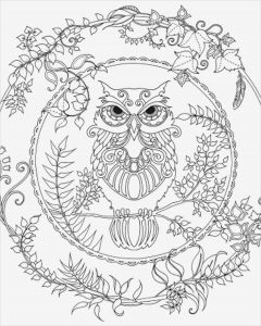 Complicated Animal Coloring Pages - Difficult Coloring Pages Printable Intricate Coloring Pages New 46 Fresh Difficult Coloring Pages 5q