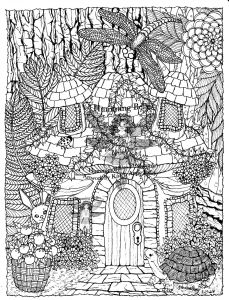 Complicated Animal Coloring Pages - Weird Garden Fairy Coloring Pages Free Page Difficult Hidden Animals 17d