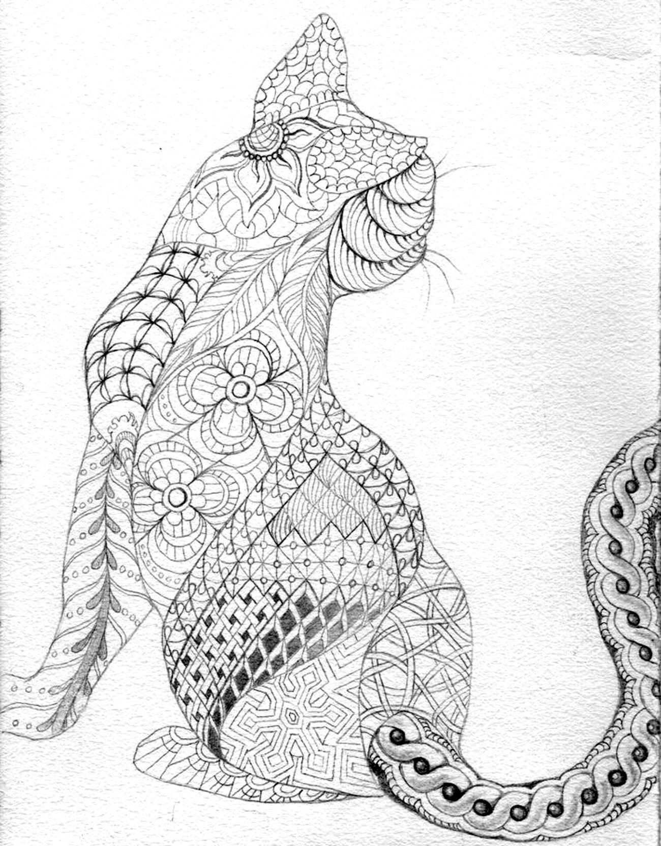 23 Complicated Animal Coloring Pages Collection Coloring