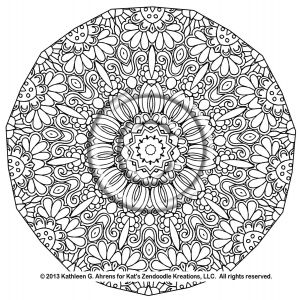Complicated Coloring Pages to Print - Pattern Animal Coloring Pages and Print for Free 4a