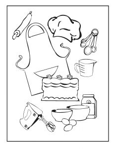 Cooking Coloring Pages - 24b05d9629eadff948efdafb6c57c6ed 10i