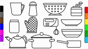 Cooking Coloring Pages - Kitchen tools Coloring Pages tools Coloring Pages Unique tools Coloring Pages Elegant Cool 14d