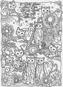 Cool Design Coloring Pages to Print - Free Printable Coloring Pages for Adults Geometric 8b