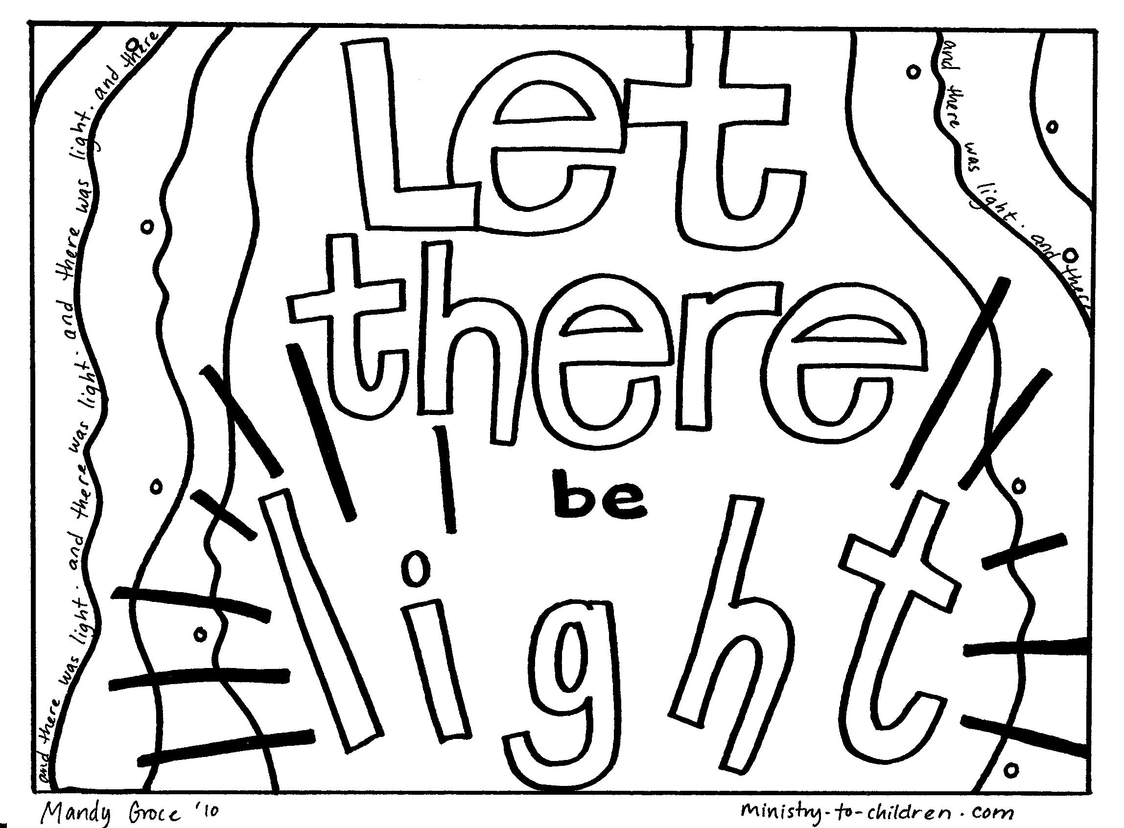 Creation Coloring Pages For Preschoolers New Creation Coloring