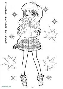 Cute Anime Coloring Pages - Elegant Chibi Anime Coloring Pages New New Cute Anime Chibi Girl Coloring Pages Elegant Chibi 13g