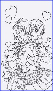 Cute Anime Coloring Pages - Cute Anime Chibi Girl Coloring Pages Beautiful Printable Coloring Pages for Girls Lovely Printable Cds 0d 17p