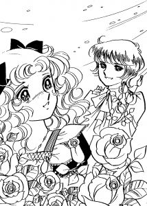 Cute Anime Coloring Pages - Cute Anime Coloring Pages Anime Coloring Pages Amazing Candy Candy Coloring Pages for Kids 17l