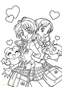 Cute Anime Coloring Pages - 23 How to Draw Anime Characters Step by Step Special Cute Anime Chibi Girl Coloring Pages 13e