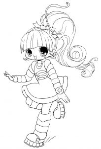 Cute Anime Coloring Pages - Cute Anime Coloring Pages Cute Anime Chibi Girl Coloring Pages Free 11s