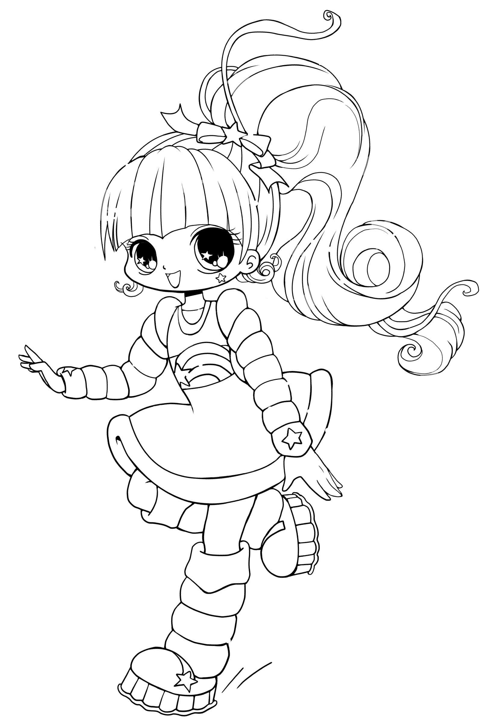 cute anime coloring pages Download-Cute Anime Coloring Pages Cute Anime Chibi Girl Coloring Pages Free 7-n