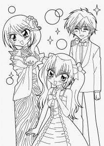 Cute Anime Coloring Pages - Anime Girl Coloring Page Model Anime Girl Coloring Pages Printable Download Sample 1e