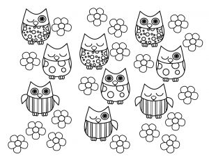 Cute Coloring Pages to Print - Free Owl Coloring Pages Cute Owl Coloring Pages Many Interesting 15f