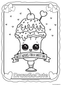 Cute Coloring Pages to Print - Draw so Cute Coloring Pages 7r