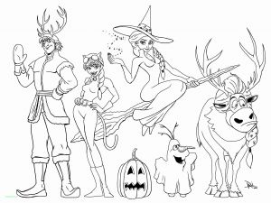Cute Halloween Coloring Pages for Kids - Cute Disney Halloween Coloring Pages 10g