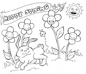 Daffodils Coloring Pages - Free Printable Coloring Pages for Spring 12b