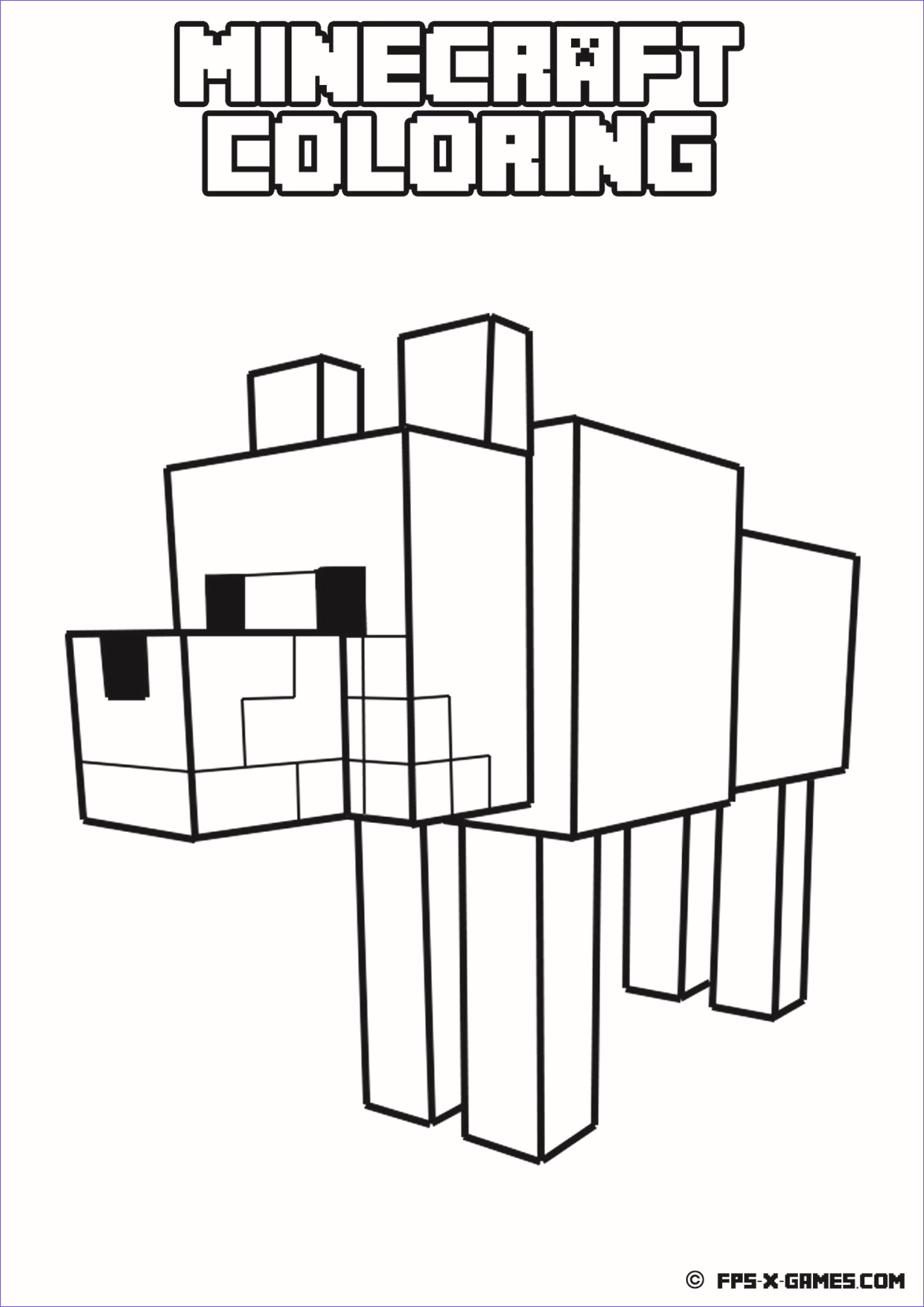 dan tdm coloring pages Collection-Minecraft Coloring Games Lovely Minecraft wither Ausmalbilder 1082 4-a