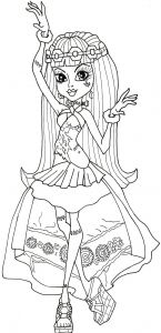 Dance Coloring Pages - Monster High Frankie Stein Dancing Coloring Pages Frisch Monster High Ausmalbilder Frankie Stein 12n