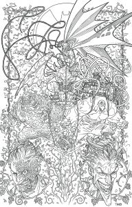 Dc Comics Coloring Pages - Dc Ics Coloring Book High Quality Coloring Pages 5a