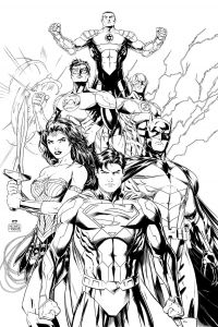 Dc Comics Coloring Pages - the Justice League Also Called the Justice League Of America or Jla is A 8j
