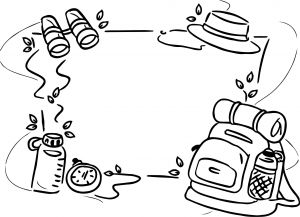 Detective Coloring Pages - Awesome Background Camp Camping Coloring Page 20i