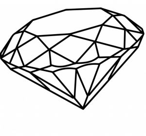 Diamond Coloring Pages - Diamond Coloring Pages Gallery Coloring Pages for Kids 13d