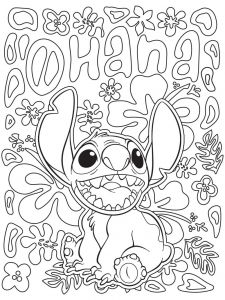 Disney Coloring Pages Online - Celebrate National Coloring Book Day with Disney Style 4l