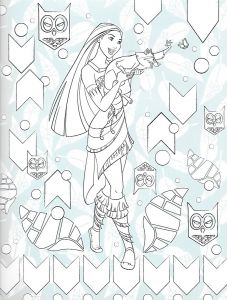 Disney Coloring Pages Pocahontas - Adult Coloring Pages Disney Coloring Pages Pocahontas Color Papercutting Birthday 16j
