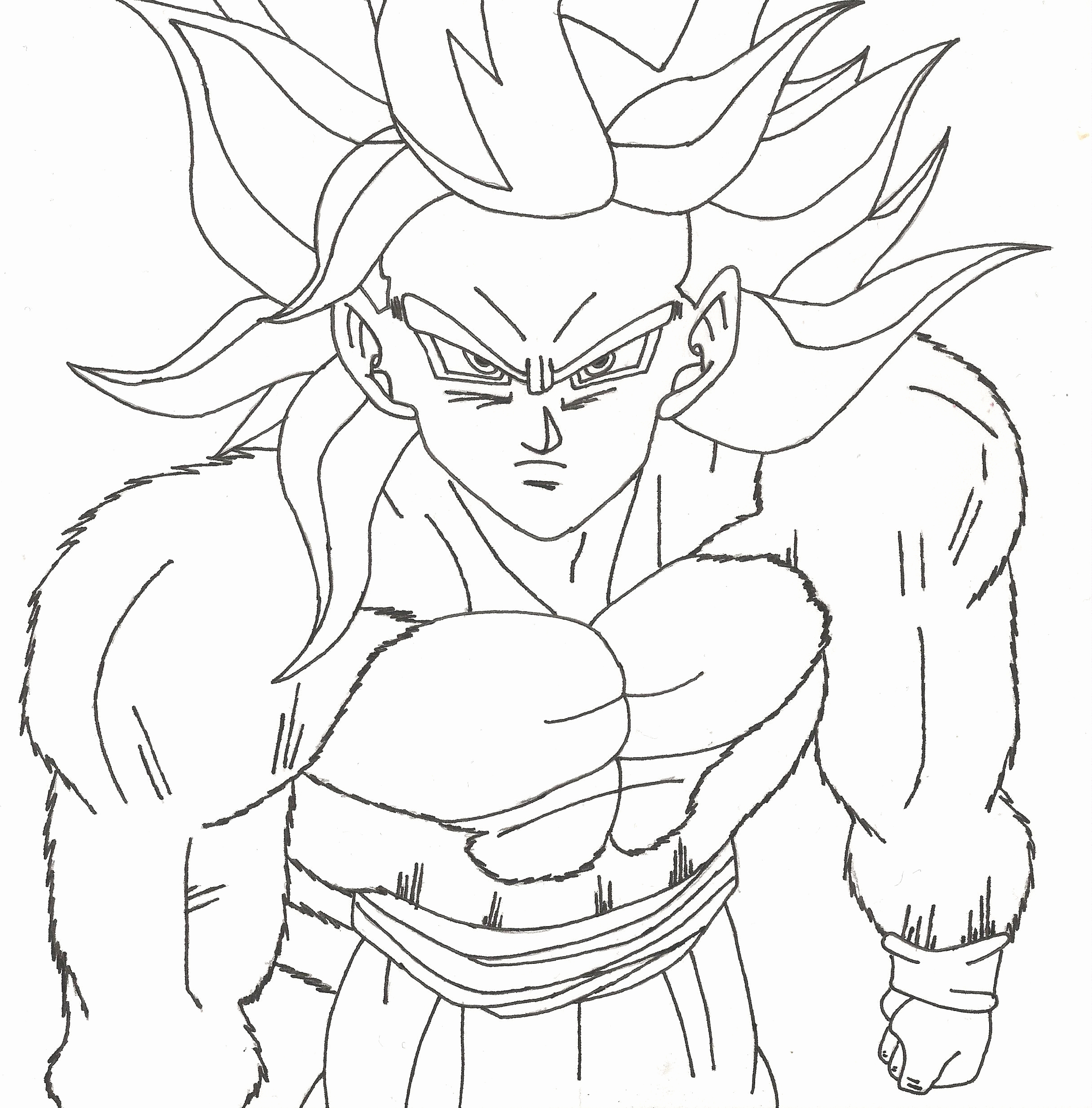 990 Dragon Ball Z Coloring Pages Printable Images & Pictures In HD