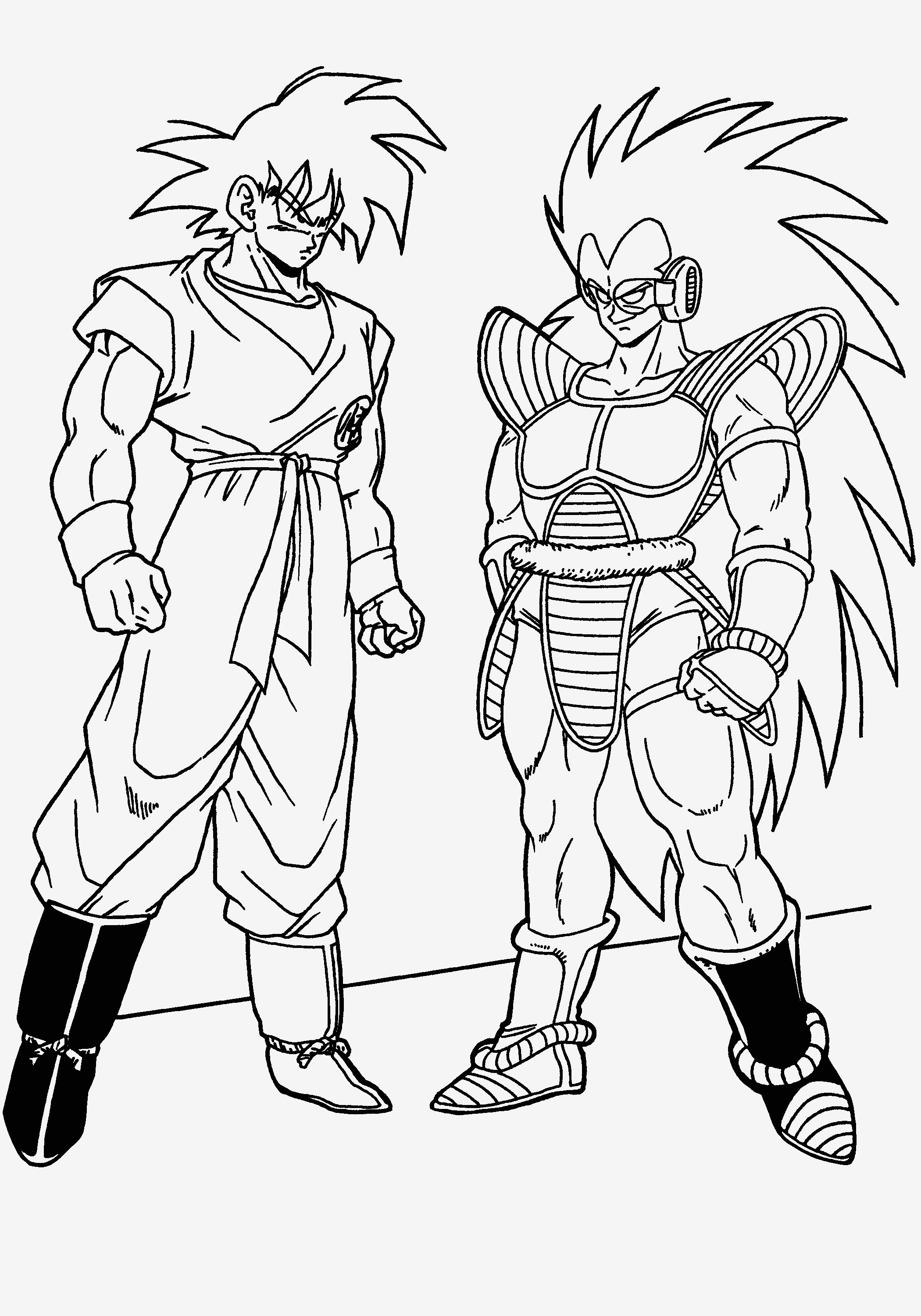 image relating to Dragon Ball Z Coloring Pages Printable named 23 Dragon Ball Z Coloring Internet pages Gallery - Coloring Sheets